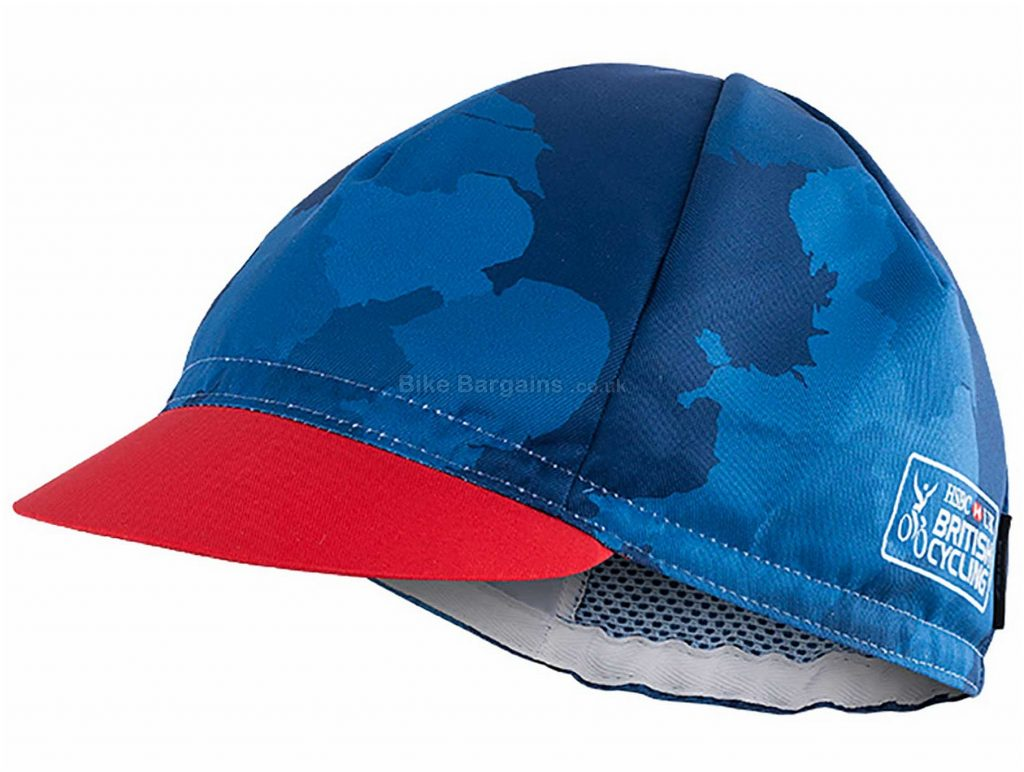 Kalas British Cycling Replica Summer Cap S, Blue, White