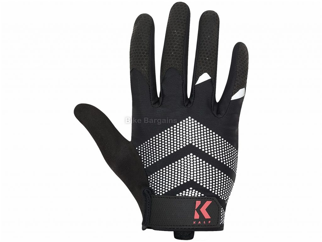 Kalf Full Finger Gloves XS,S, Black