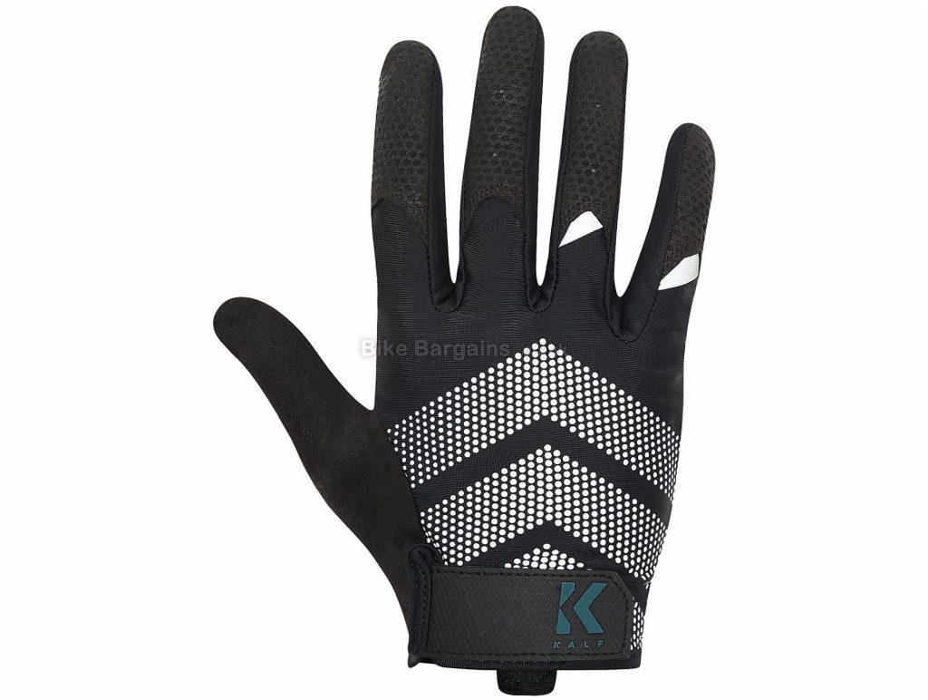 Kalf Ladies Full Finger Gloves M, Black