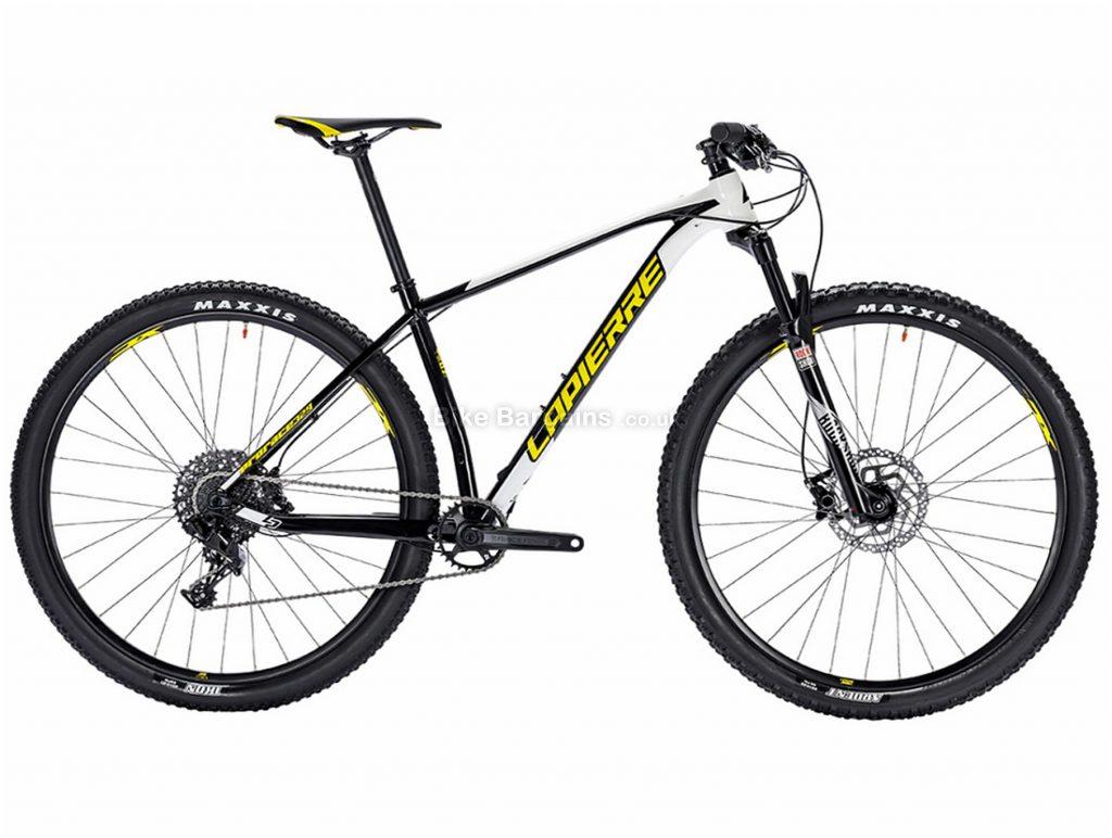 """Lapierre Prorace 329 29"""" Alloy Hardtail Mountain Bike 2018 XS, Black, White, Yellow, 29"""", Alloy, 11 Speed"""