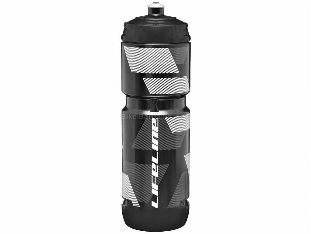 LifeLine 600ml Water Bottle 74mm, 600ml, Black, Blue, Green, Transparent, White, Yellow, Polyethylene