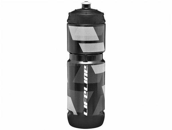 LifeLine 800ml Water Bottle 74mm, 800ml, Black, Blue, Green, Transparent, White, Yellow, Polyethylene