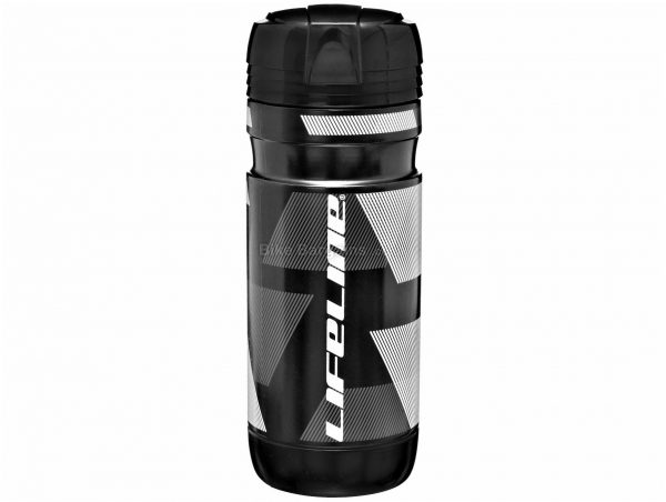 LifeLine Tool Storage Bottle 550ml, 60mm, Black, White, Nylon