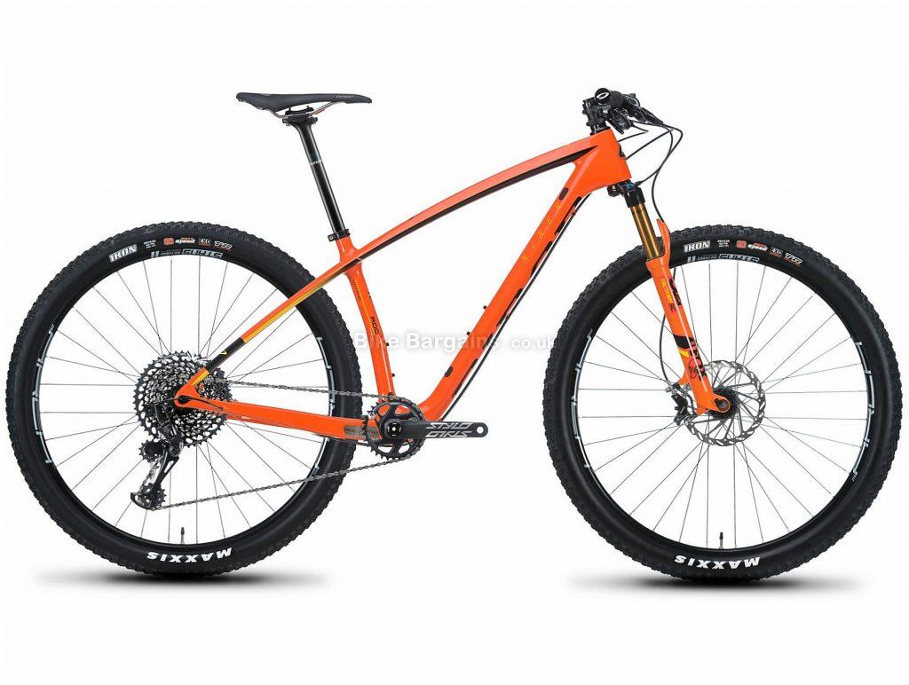 "Niner AIR 9 RDO 3-Star 29"" Carbon Hardtail Mountain Bike 2019 XL, Orange, 29"", Carbon, 12 Speed"