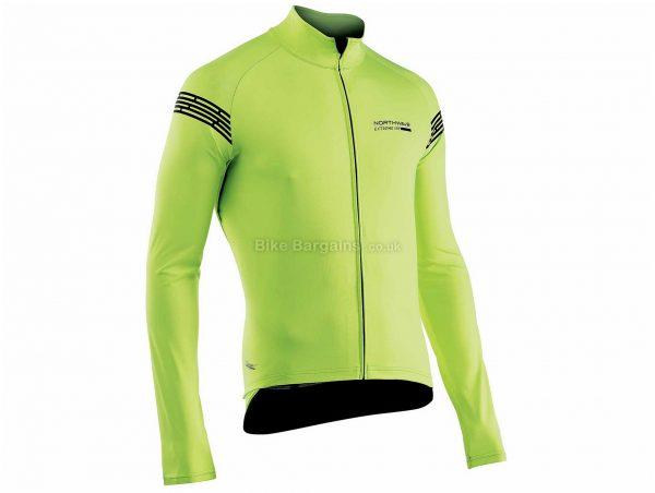 Northwave Extreme H2O Long Sleeve Jacket S, Yellow