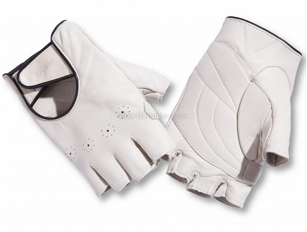 Rapha Ladies Grand Tour Gloves S, Black, White