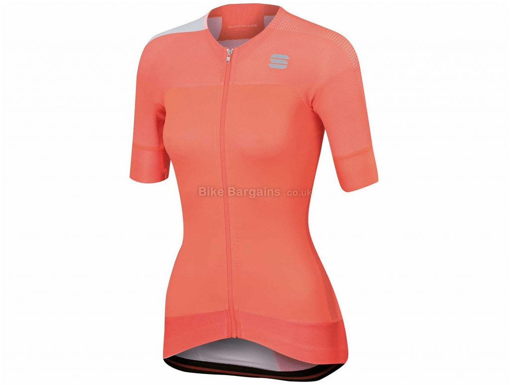 Sportful Ladies Bodyfit Pro Evo Short Sleeve Jersey XL, Pink