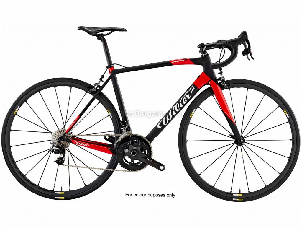 Wilier Zero7 Ultegra Carbon Road Bike 2019 L, Black, Red, 700c, Carbon, 22 Speed, 7.2kg