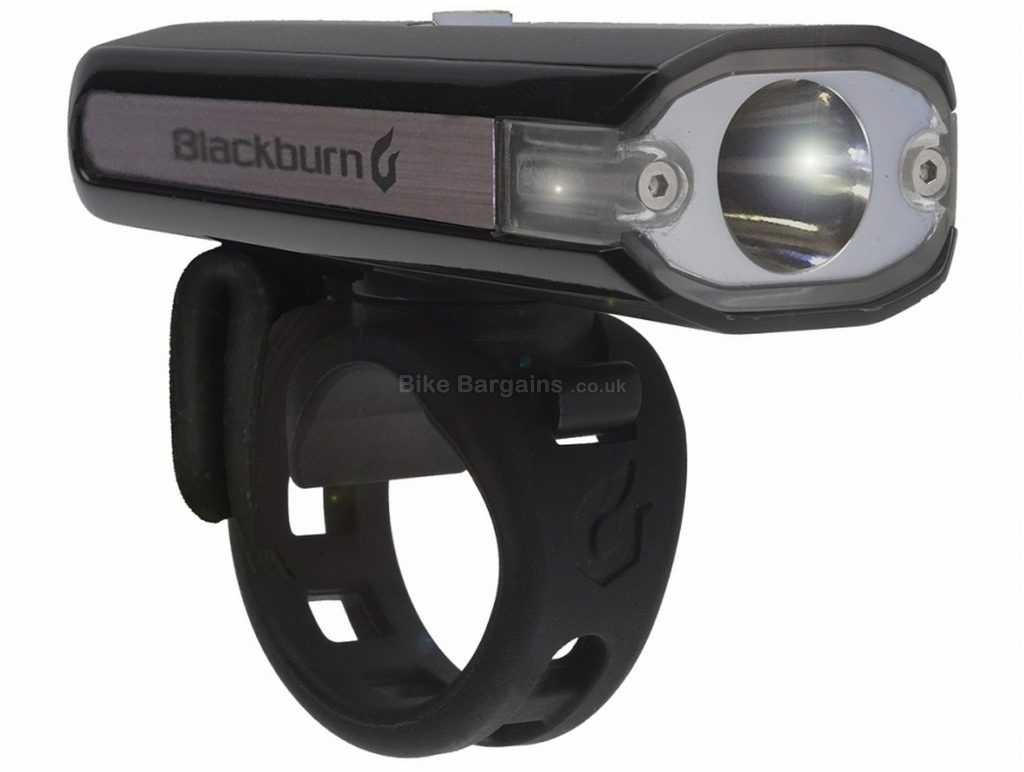 Blackburn Central 200 Front Light 200 Lumens, Black, Front, Rear, 62g, Plastic
