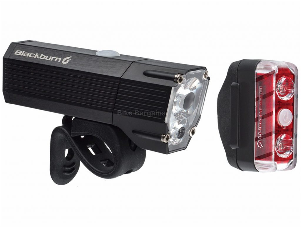 Blackburn Dayblazer 1100 65 Light Set 1100 Lumens, 65 Lumens, Black, White, Red, Front & Rear, 48g, Alloy