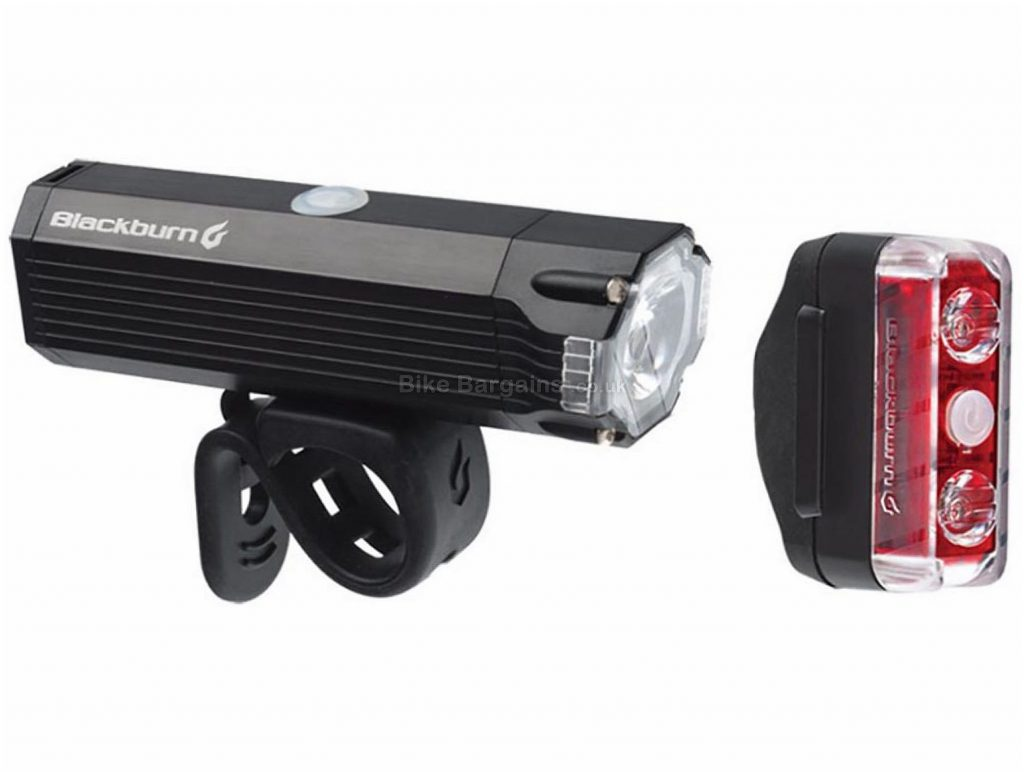 Blackburn Dayblazer 800 65 Light Set 800 Lumens, 65 Lumens, Black, Red, Front & Rear, 188g, Alloy, Plastic