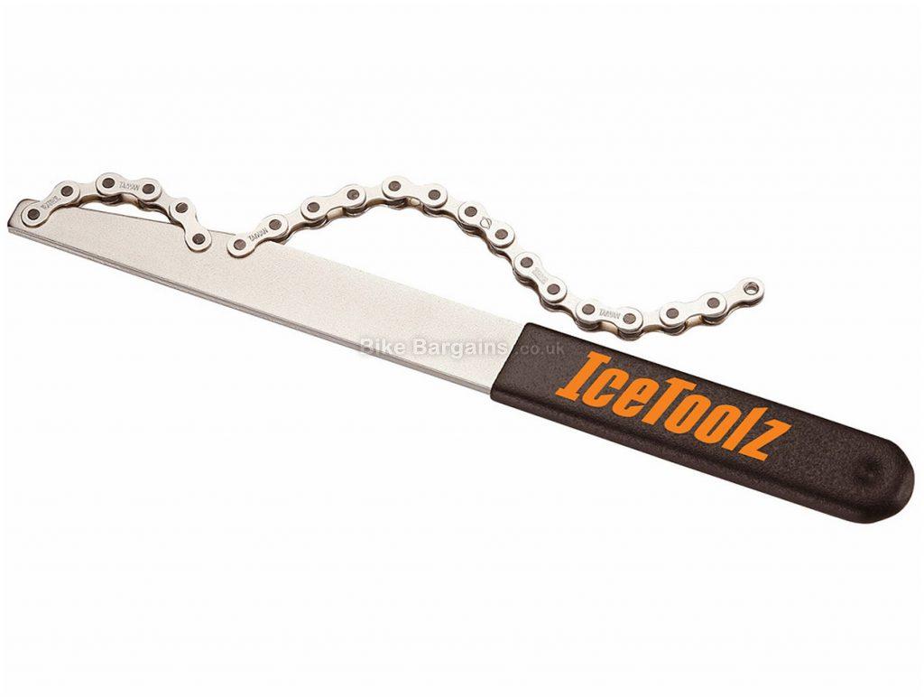 IceToolz Chain Whip 7, 8, 9, 10, 11 Speed, Steel, Silver, Black, Orange