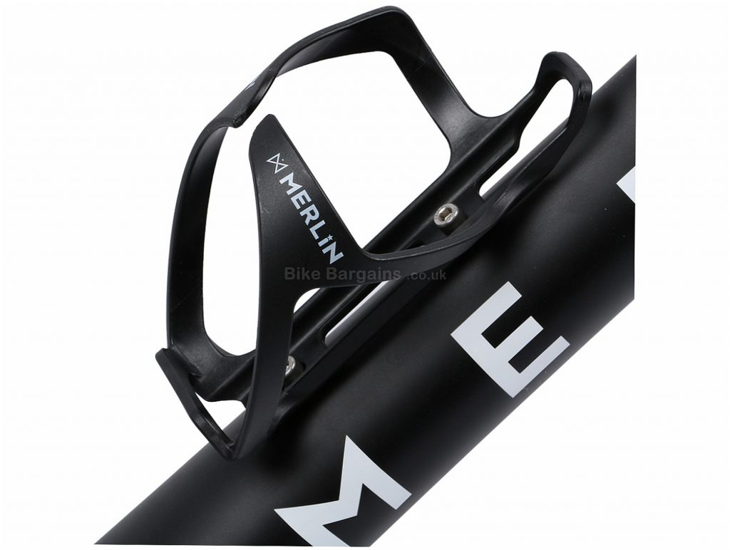 Merlin Cycles Sport Bottle Cage Plastic, Resin, 29g, Black