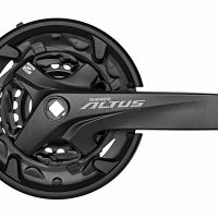 Shimano Altus M2000 9 Speed Triple Chainset