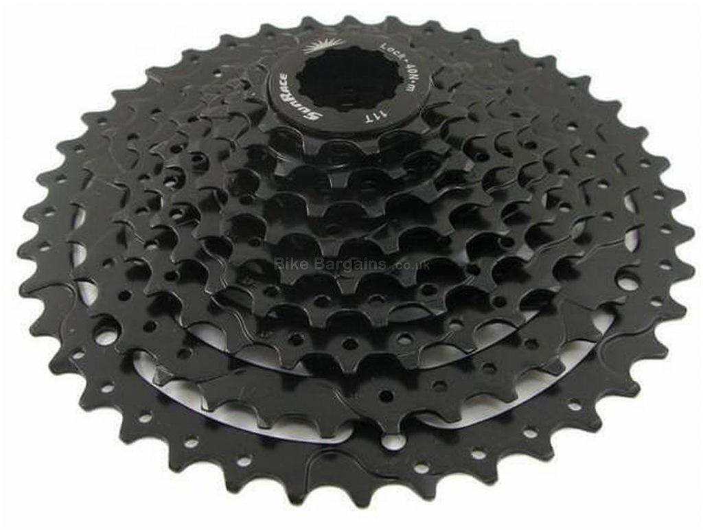 SunRace CSM990 9 Speed Wide Ratio Cassette 9 speed, 425g, Alloy, Steel, MTB, Silver
