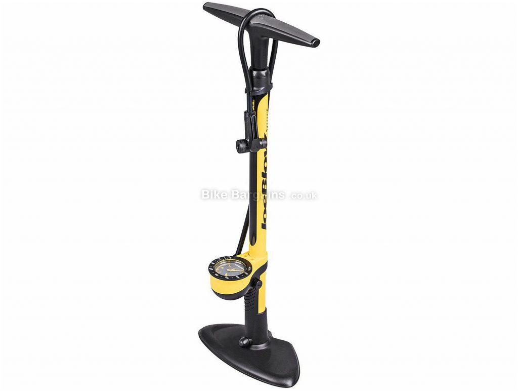 Topeak Joe Blow Sport III Track Pump 160psi,  68cm, 25cm, 12cm, Black, Yellow, 1.68kg, Steel, Plastic