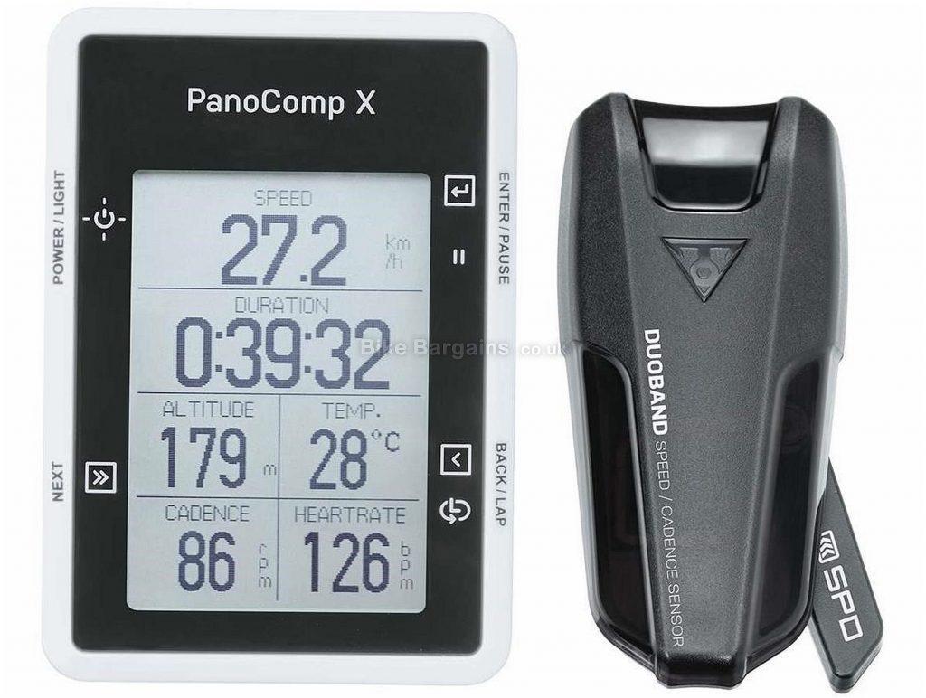 Topeak Panocomp X Computer 7cm, 5cm, 2cm, Black, Silver, 50g, Plastic