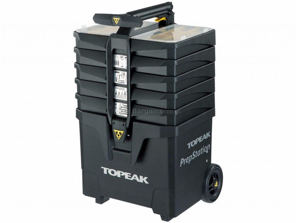 Topeak Prepstation 52 Piece Tool Kit 38cm, 36cm, 67cm, Black, Steel