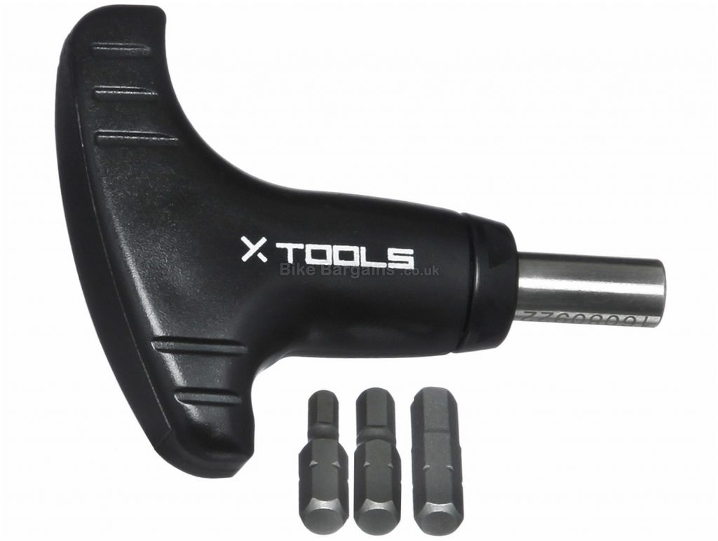 X-Tools Mini Torque Wrench 4mm, 5mm, 6mm, Steel, Plastic, Black, Silver, Wrenches