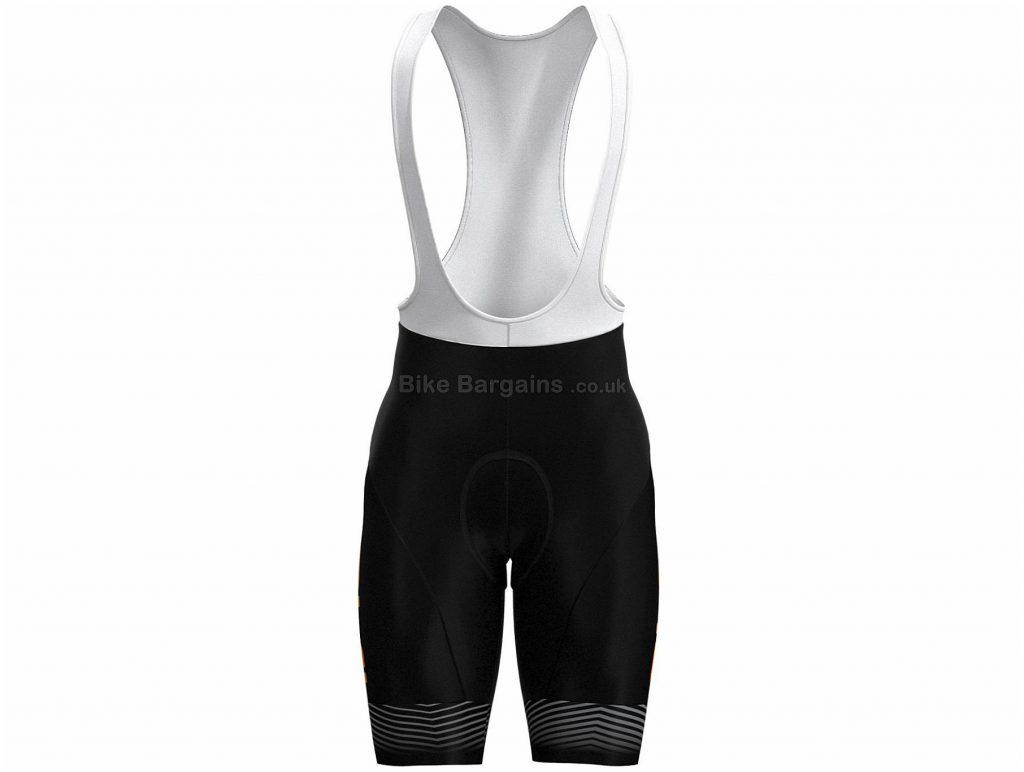 Ale Abstract Wave Bib Shorts 2019 XXL, Black