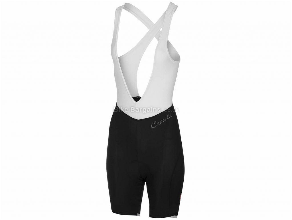 Castelli Ladies Vista Bib Shorts XS, Pink