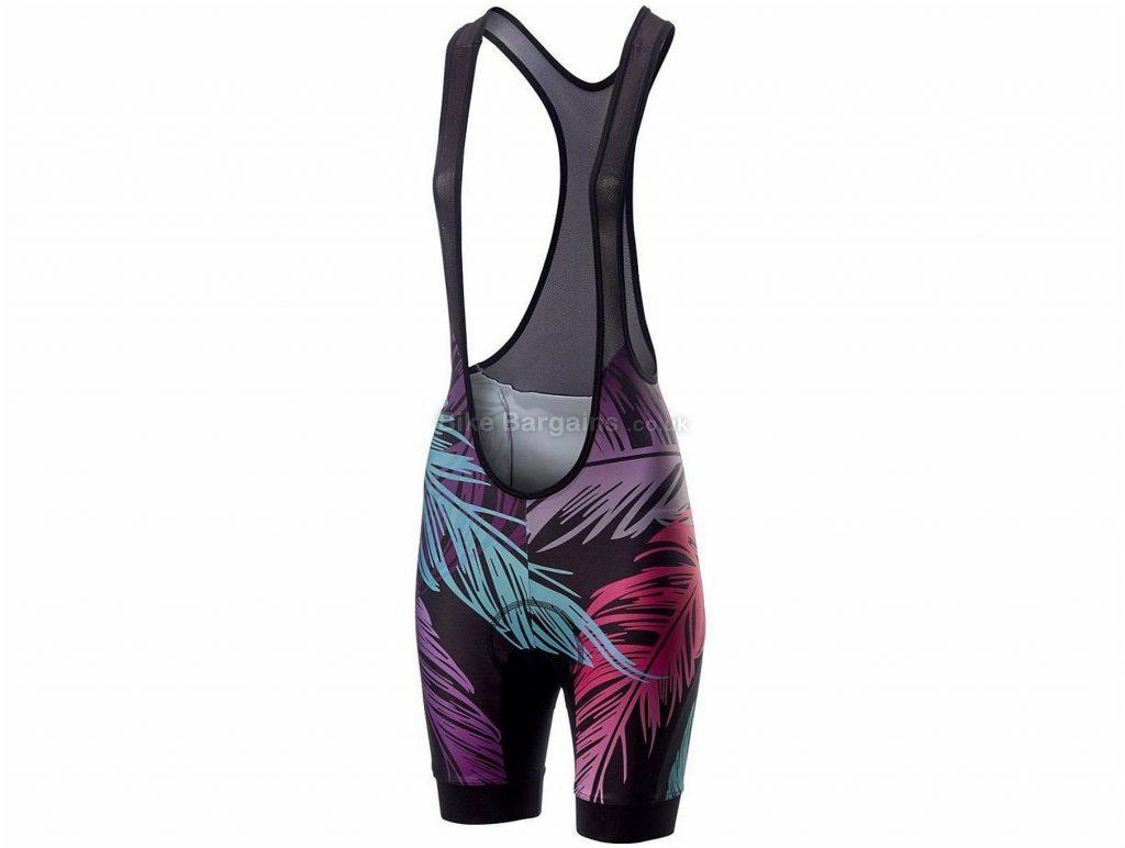 Castelli Tabula Rasa Ladies Bib Shorts L, Black, Pink