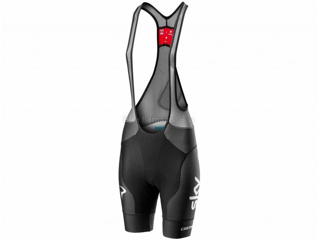 Castelli Team Sky Free Aero Race 4 Ladies Bib Shorts L, Black