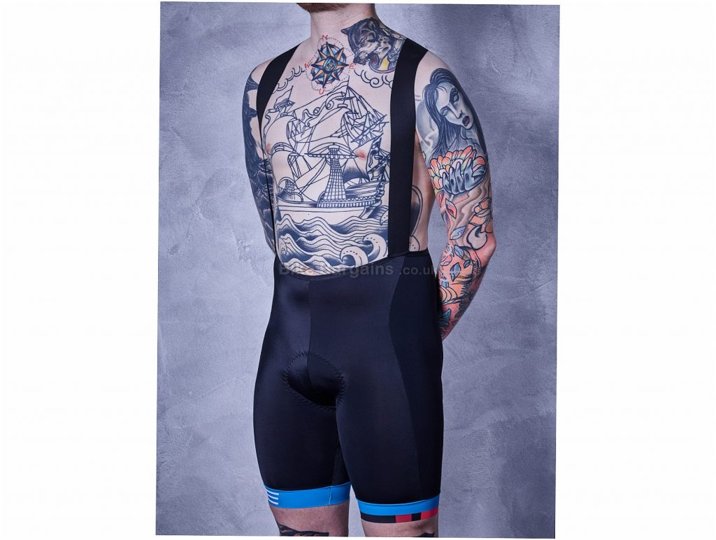 Cube Teamline Bib Shorts S, Black