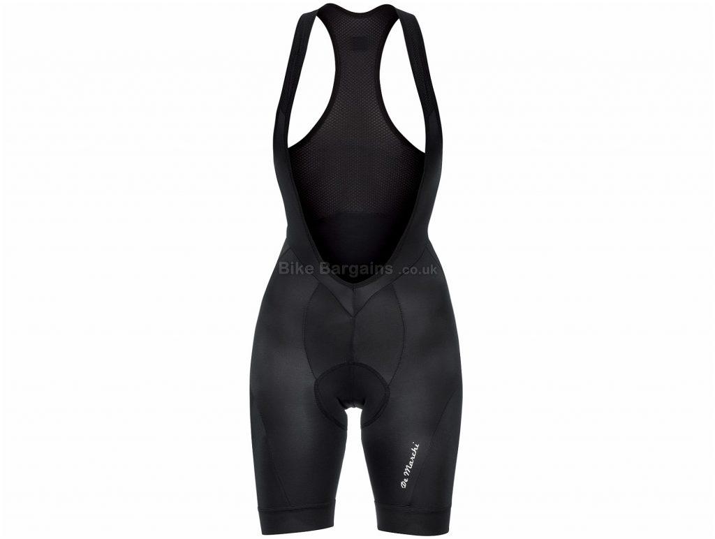 De Marchi Ladies Classico Bib Shorts 2017 L,XL, Black