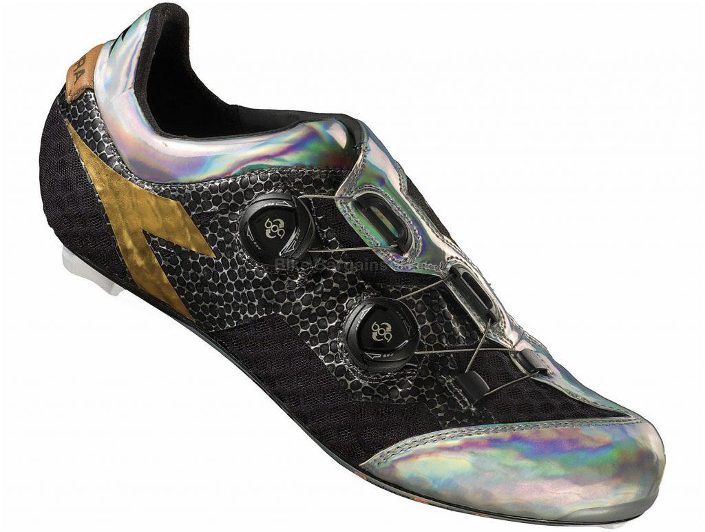 Diadora D-Stellar SPD-SL Road Shoes 39, Black, Silver, Boa, Carbon