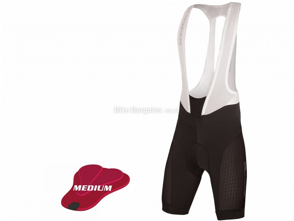 Endura Pro SL Lite Medium Pad Bib Shorts S, Black