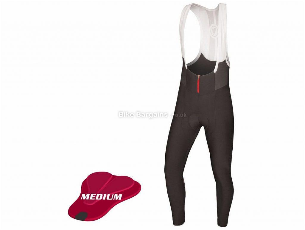 Endura Pro Sl Medium Pad Bib Tights L, Black, Men's, Lycra