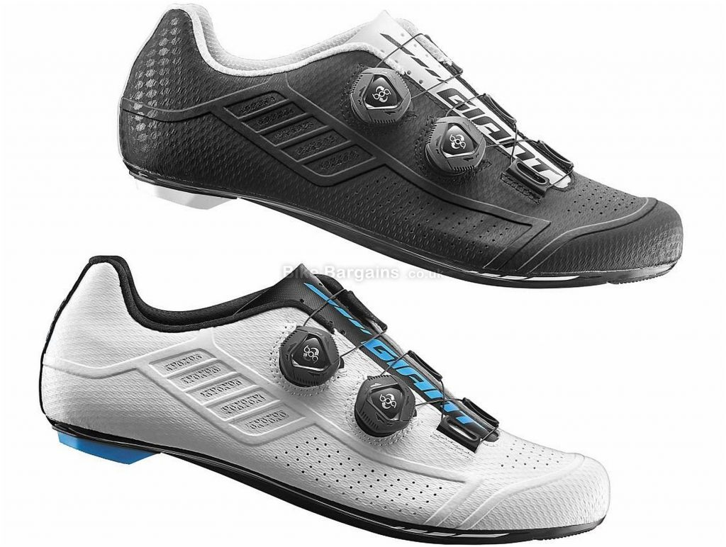 Giant Conduit Carbon Road Shoes 39, Black, Boa, Carbon
