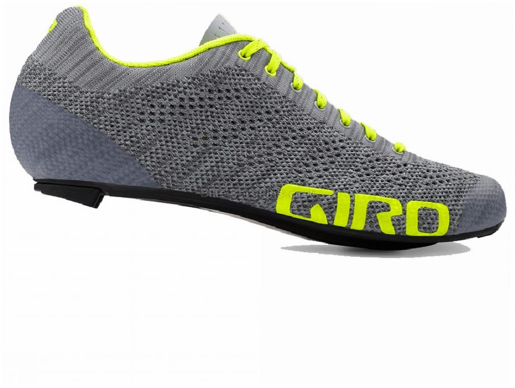 Giro Empire E70 Knit Road Shoes 40,49, Blue, Green, Laces, Carbon