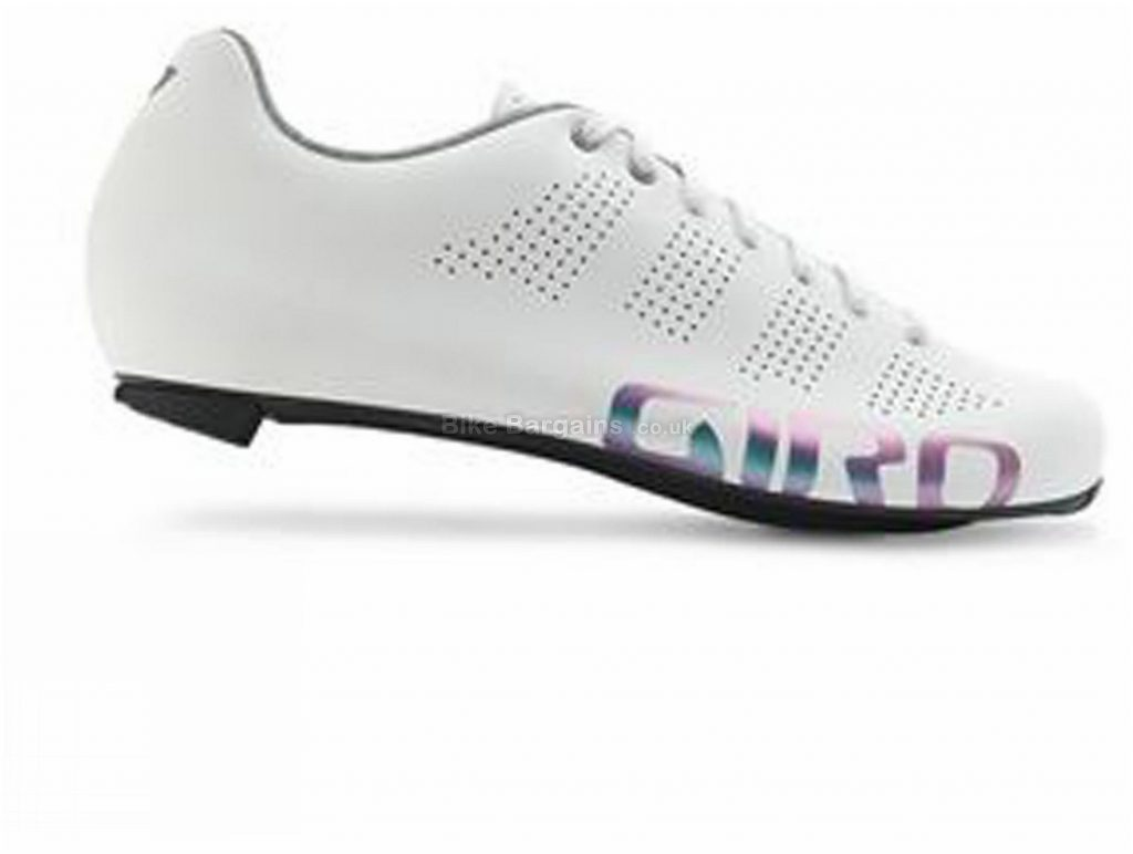 Giro Ladies Empire W ACC Road Shoes 41, White, Laces, 210g, Carbon