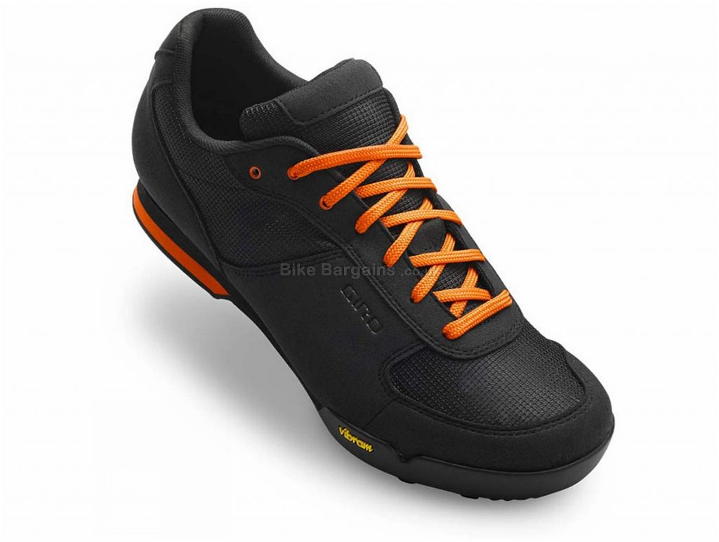 Giro Rumble VR MTB Shoes 40, Black, Laces, Nylon