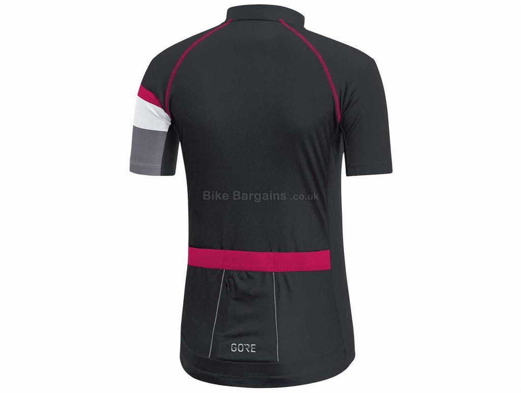 Gore Power Ladies Short Sleeve Jersey 34, Pink, Black