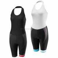 Madison Sportive Race Halter Neck Ladies Bib Shorts