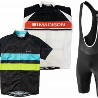 Madison Sportive Short Sleeve Jersey and Bib Shorts Set