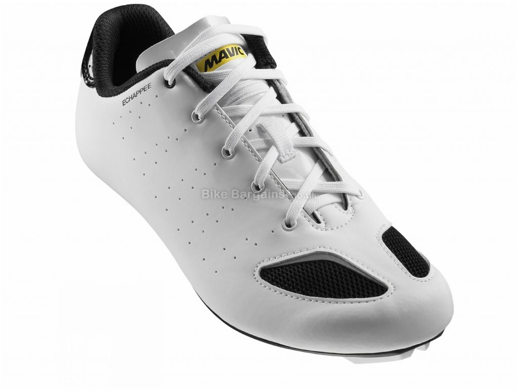 Mavic Ladies Echappee Road Shoes 39, White, Laces, Nylon