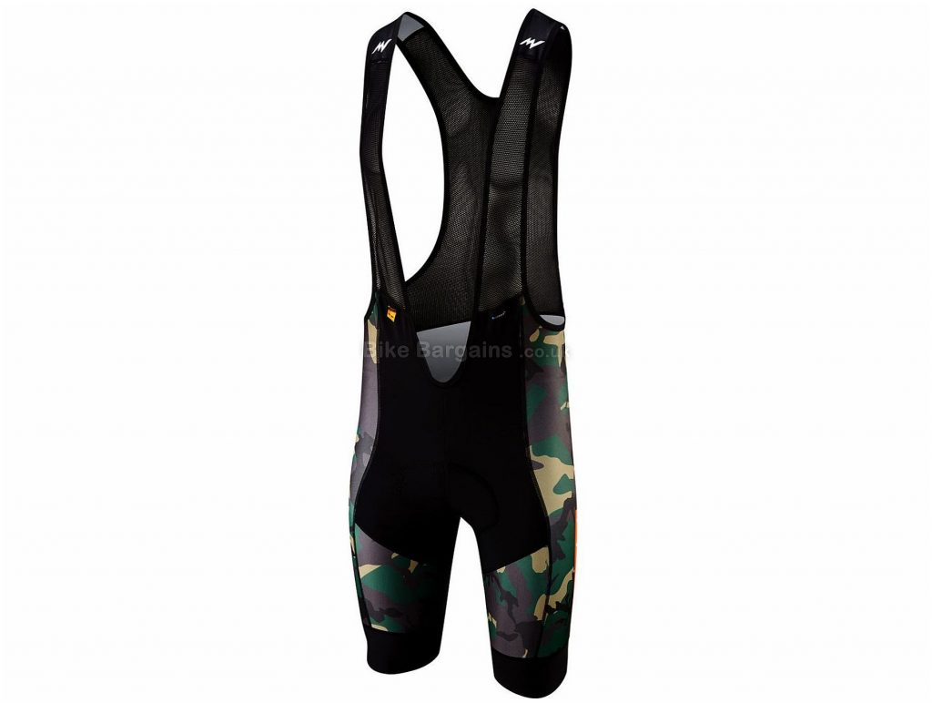 Morvelo NTH Series Camo Bib Shorts 2019 XS, Black