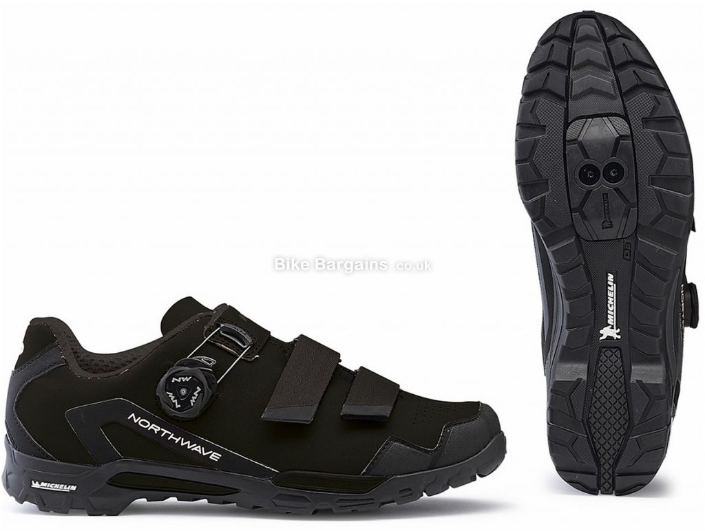 Northwave Outcross 2 Plus MTB Shoes 2019 40, Black, Grey, Boa, Velcro, Nylon