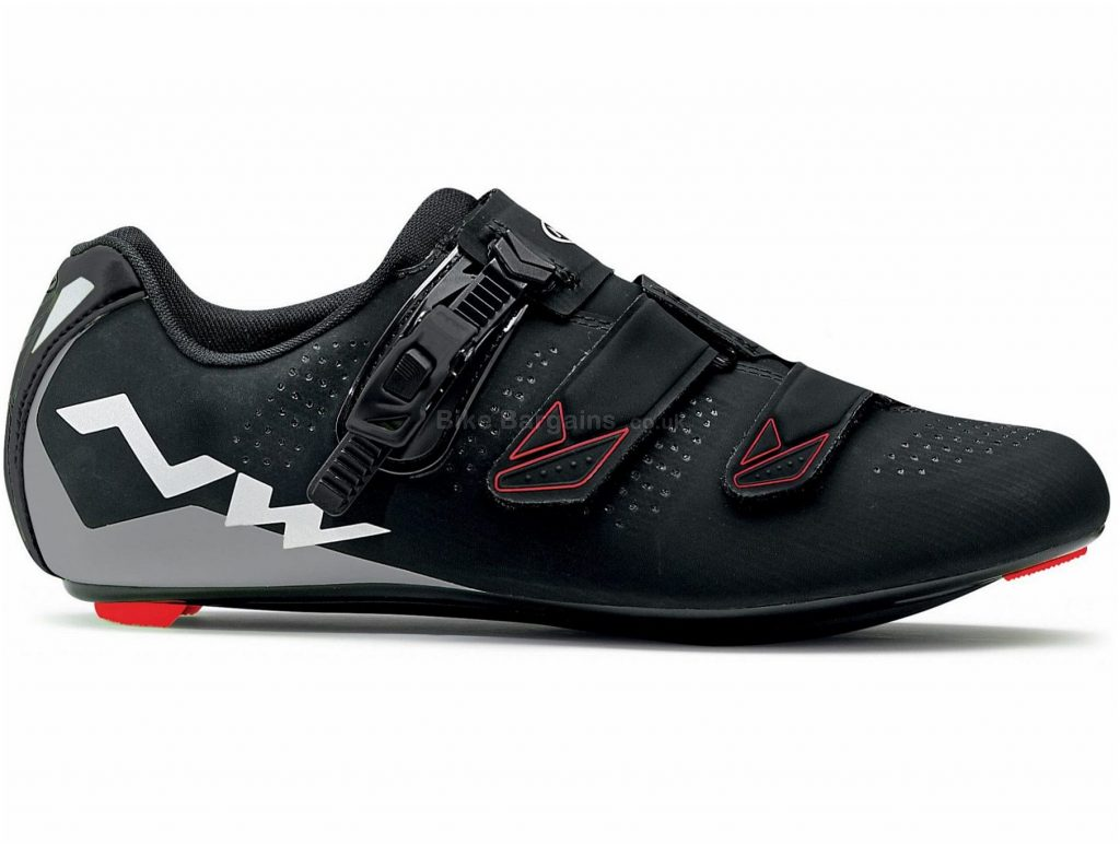 Northwave Phantom 2 SRS Road Shoes 37, Black, Velcro, Boa, Carbon