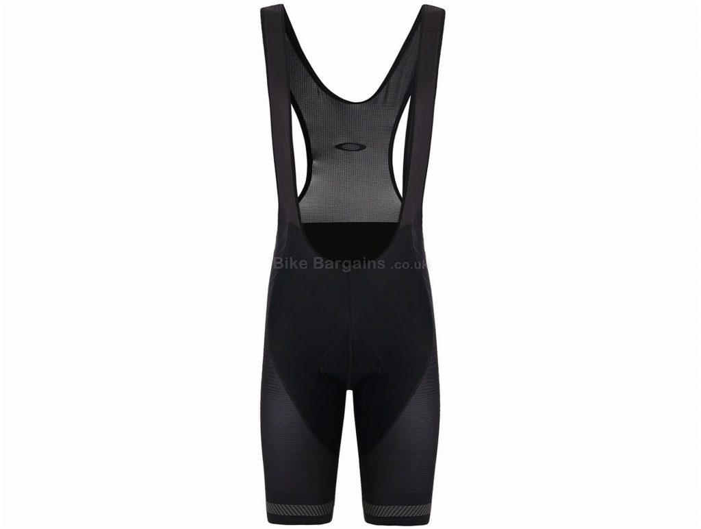 Oakley Jaw Breaker Premium Bib Shorts L, Black