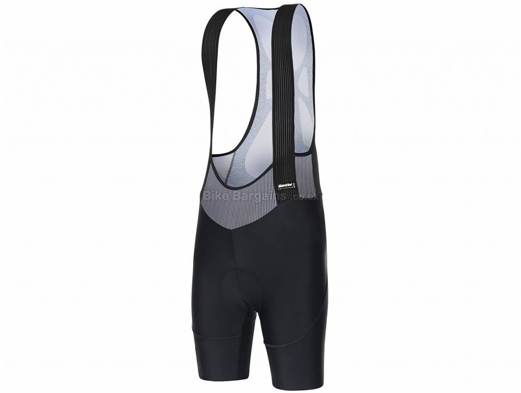 Santini Ladies Volo Bib Shorts 2019 XXL, Black
