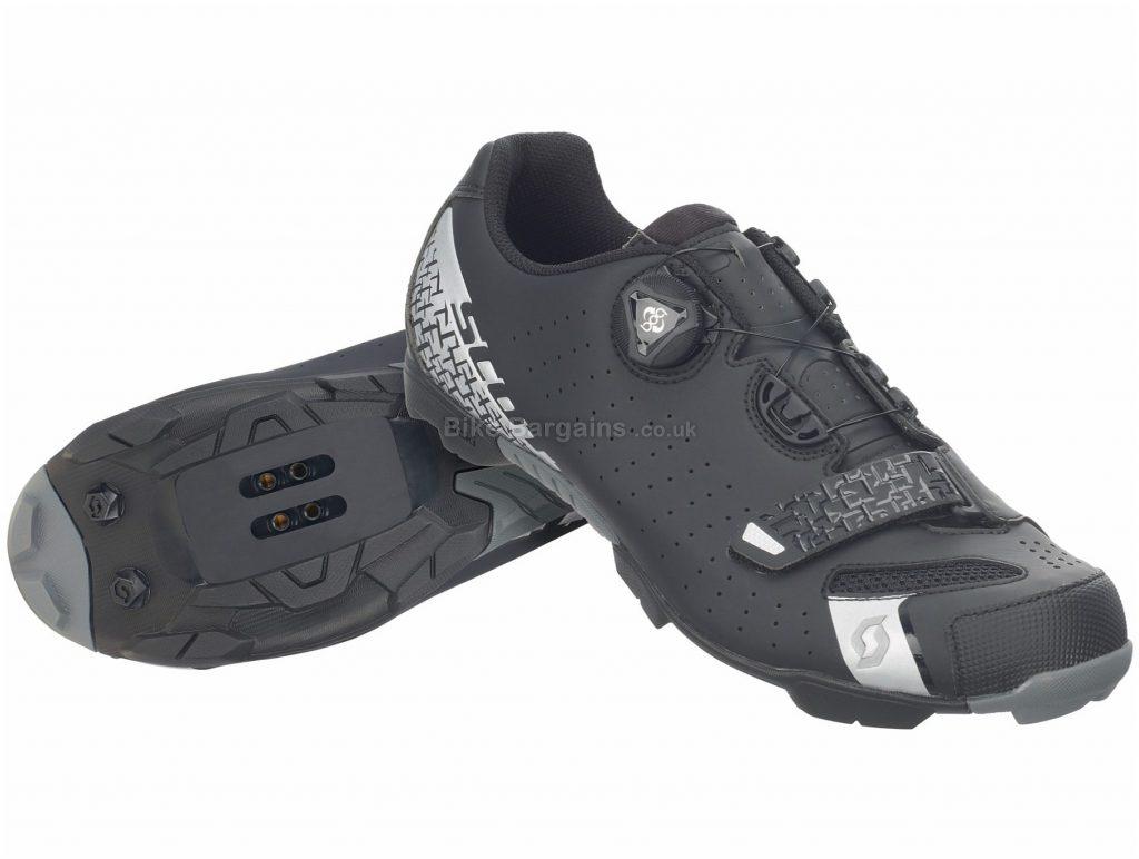 Scott Comp Boa Lady MTB Shoes 36, Black, Silver, Boa, Velcro, 310g, Nylon