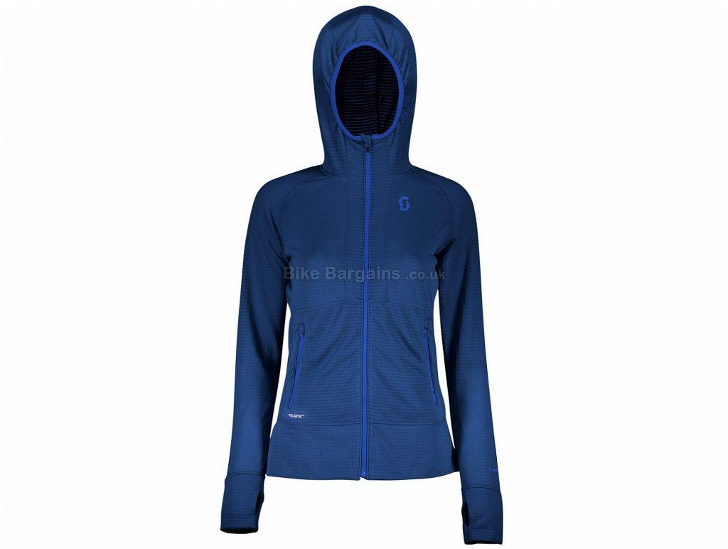 Scott Defined Polar Ladies Long Sleeve Jersey M, Blue