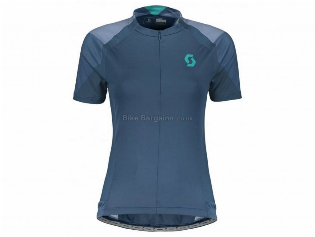 Scott Endurance 20 Ladies Short Sleeve Jersey XS, Blue
