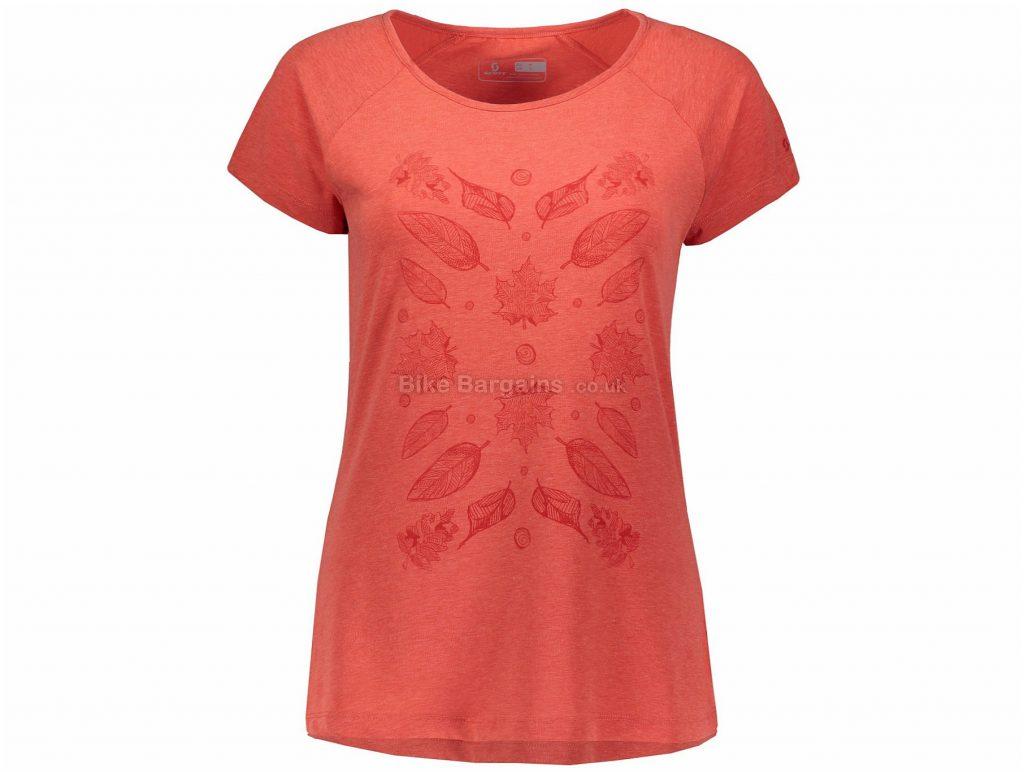 Scott Trail 70 DRI Ladies Short Sleeve Jersey XS,S,M, Red
