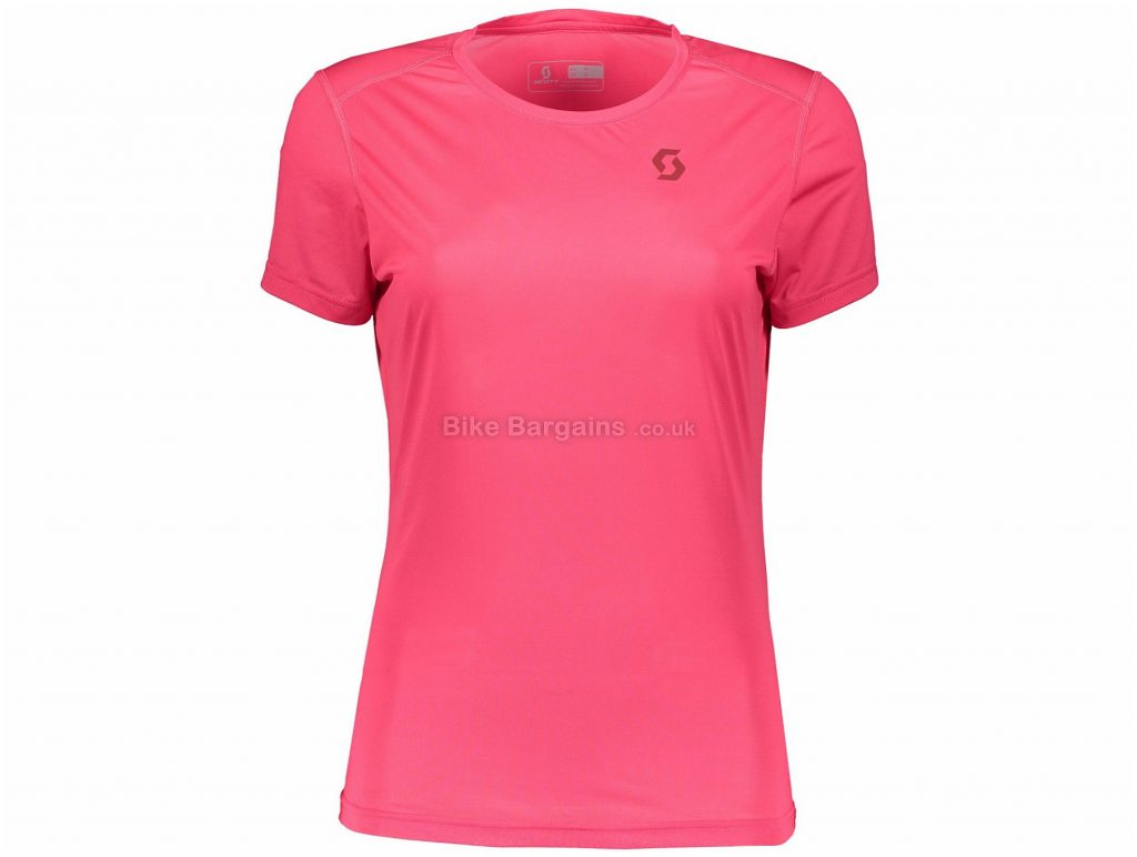 Scott Trail MTN Aero Ladies Short Sleeve Jersey S, Pink